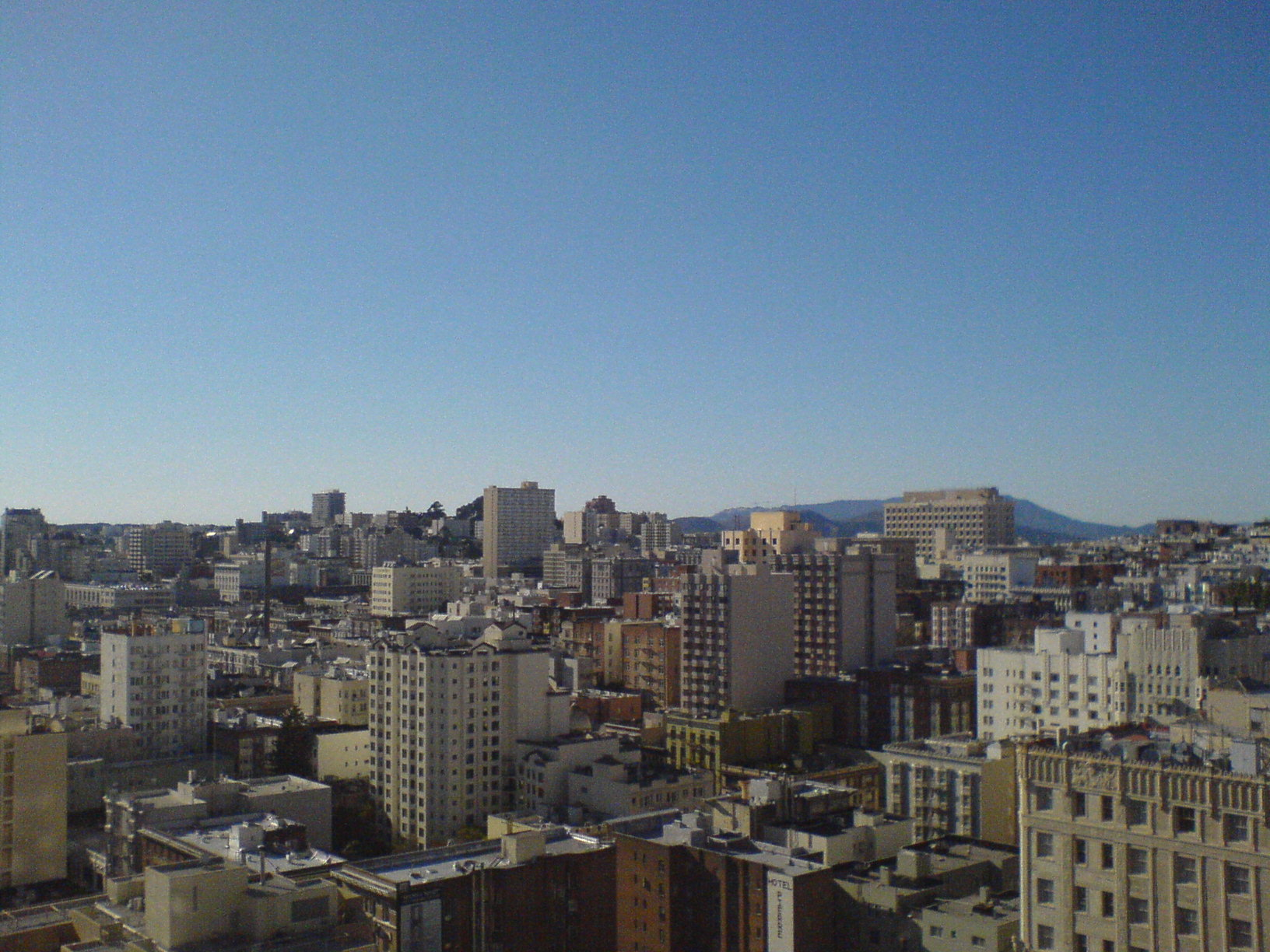 Southern San Francisco Skyline