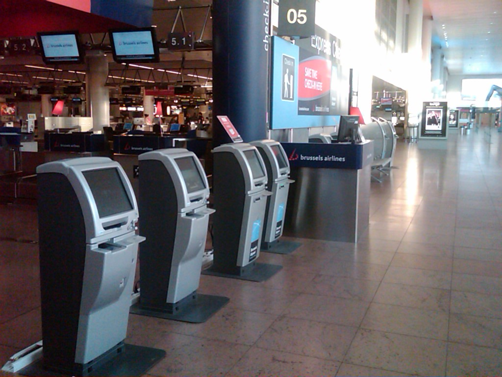 Departure Lounge - Brussels Airport