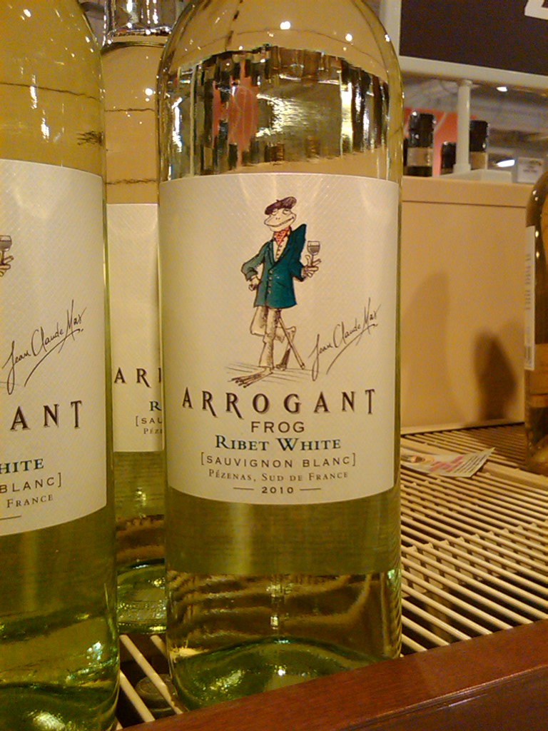 French Wine by the Arrogant Frog